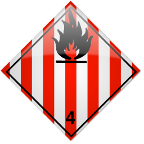 Class 4.1 - Flammable solids, self-reactive substances and solid desensitized explosives