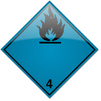 Class 4.3 - Substances which, in contact with water, emit flammable gases