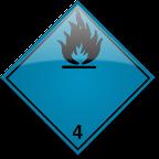Klass 4.3 - Ämnen som utvecklar brandfarlig gas vid kontakt med vatten